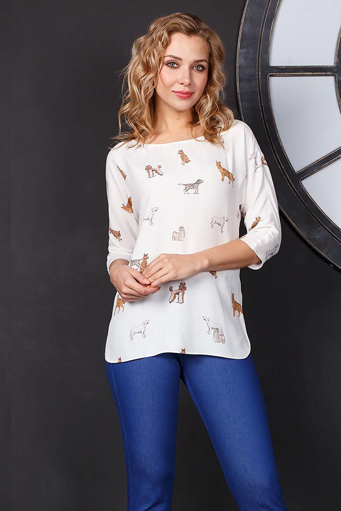22c17328be0 Блуза Г650-352 - Очаровательная блузка из вискозной ткани - идеальное  дополнение любого гардероба.