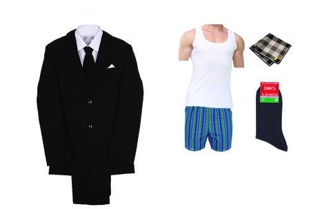 Комплект мужской ритуальной одежды