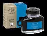 Флакон со смываемыми чернилами для перьевых ручек Parker Quink Washable Blue S0037480