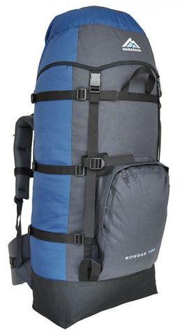 Рюкзак туристический Манарага Конжак-100 (синий/серый)