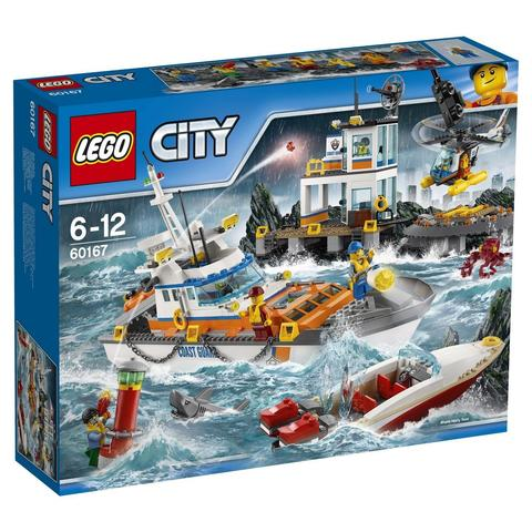 LEGO City: Штаб береговой охраны 60167 — Coast Guard Headquarters — Лего Сити Город