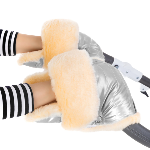 Муфта - рукавички Esspero Oskar для коляски (Натуральная шерсть)