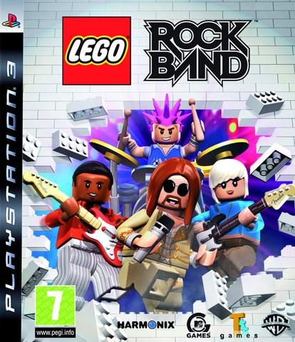 Sony PS3 LEGO Rock Band (английская версия)