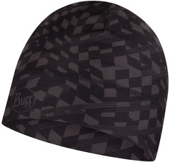 Тонкая теплая спортивная шапка Buff Hat Thermonet Asen Graphite