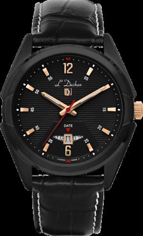 Купить Мужские швейцарские наручные часы L'Duchen D 191.71.11 по доступной цене