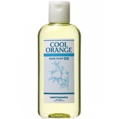 Lebel Cool Orange Hair Soap Ultra Cool - Шампунь для волос «Ультра Холодный Апельсин»
