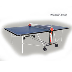 Теннисный стол DONIC INDOOR ROLLER FUN BLUE 19mm , с сеткой