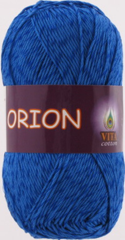 Пряжа Orion Vita cotton 4562 Темно-синий