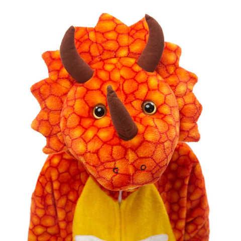 Трицератопс оранжевый 4