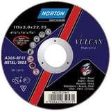 Отрезной круг NORTON VULCAN по металлу диаметр 115 мм х 2,0