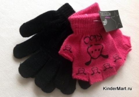 Перчатки трикотажные 2 в комплекте