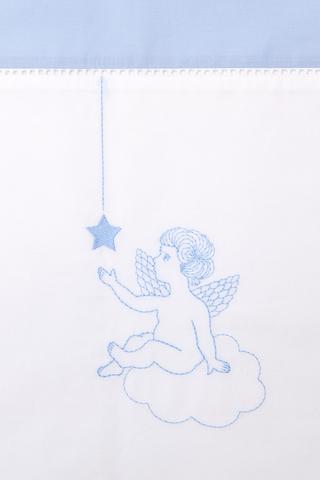 Чехол для бампера 195x45 Luxberry Angels голубой
