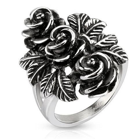 Широкий перстень женский