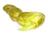Сетеполотно желтое леска 0.3, высота 75 яч., длина 150 м.