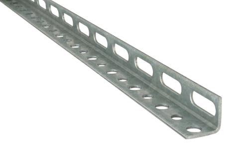 Профиль оцинкованный L-образный (цена за 1 м, кратно 2 м) 40x40х4