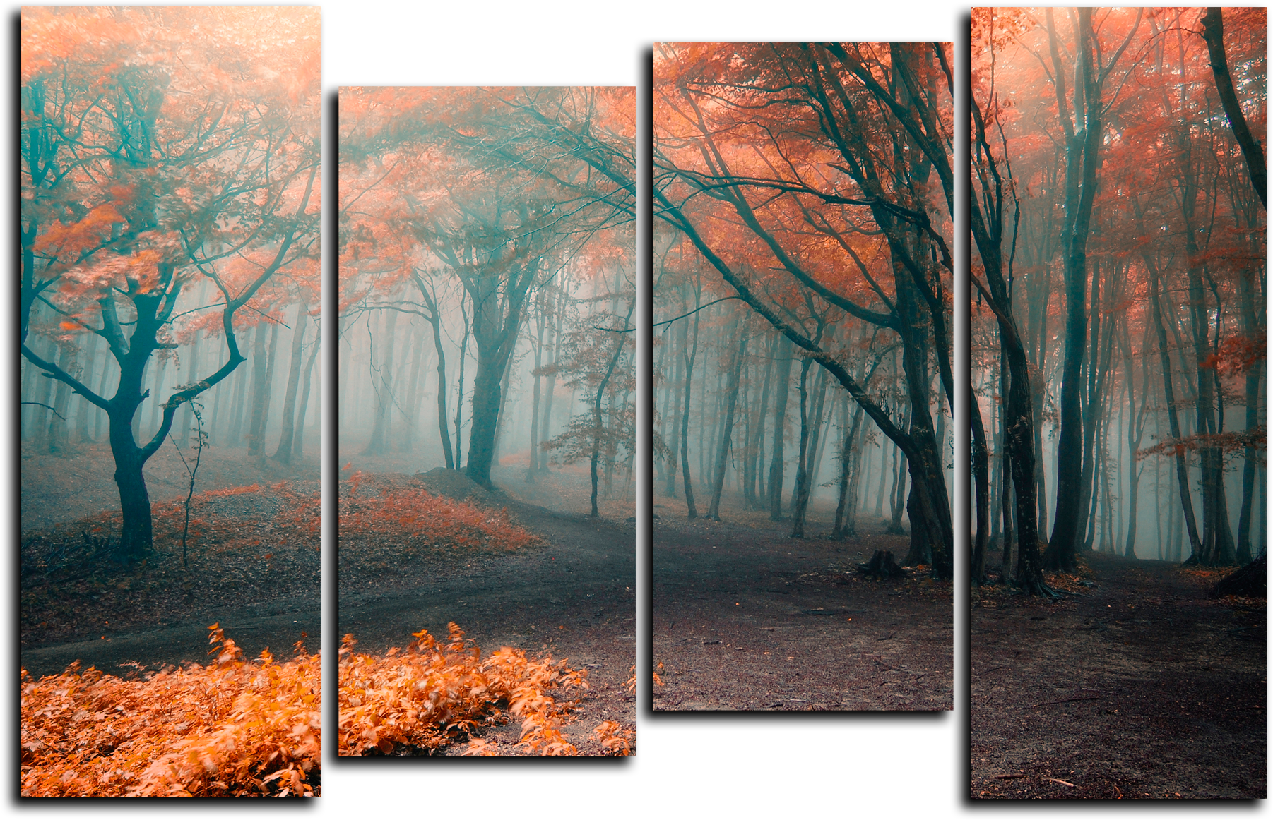 "Природа Модульная картина ""Туманный лес"" М377.png"