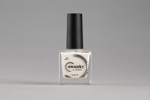 Скиндефендер Swanky Stamping, white, 10 мл.