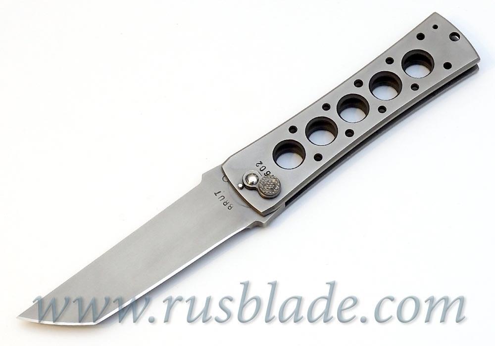 Custom Urakov Brut Folding knife 440C Tanto