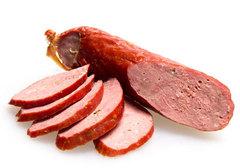 Колбаса из мраморной говядины
