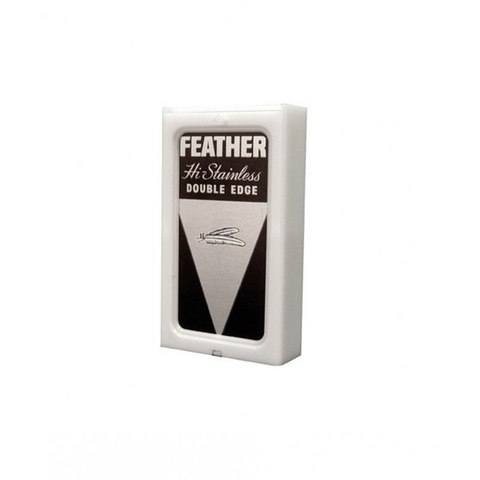 Лезвия Feather Hi-Stainless, уп. 5 шт
