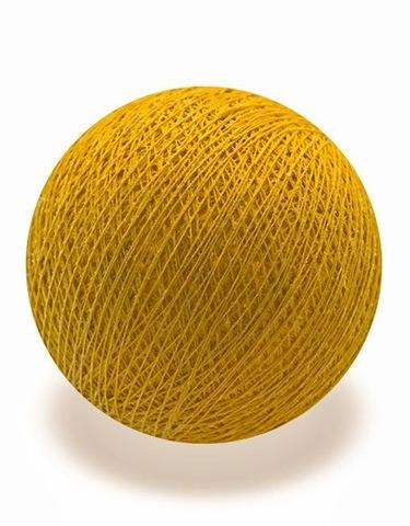 Хлопковый шарик охра