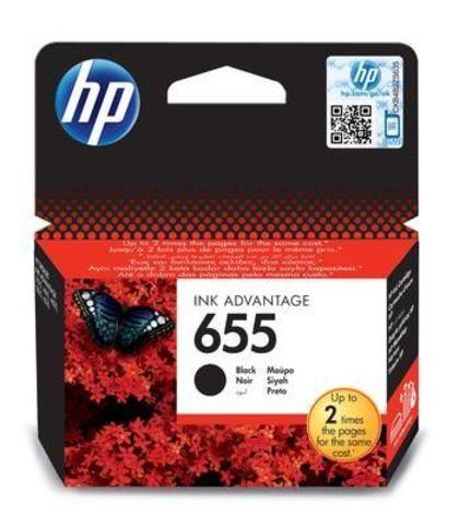 Картридж CZ109AE (№655) для HP Deskjet Ink Advantage 3525, 4615, 4625, 5525, 6525 (черный, 600 стр.)