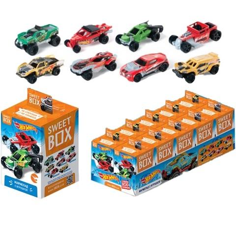 СВИТБОКС HOT WHEELS 3 Мармелад с игрушкой в коробочке 1кор*12бл*10шт,10г.