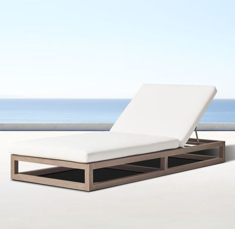 Aviara Teak Chaise