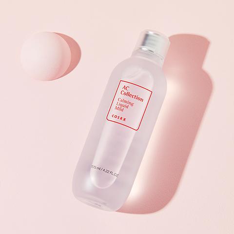 Успокаивающая жидкость для чувствительной кожи, склонной к воспалениям, 125 мл / Cosrx AC Collection Calming Liquid Mild