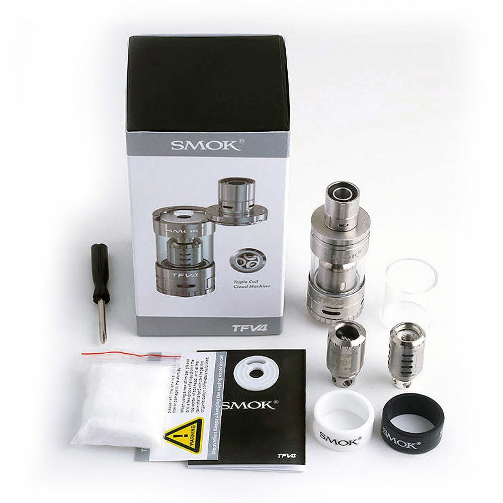 Клиромайзер SMOK TFV4 KIT authentic набор