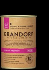 Grandorf Buffalo & Turkey консервы для собак с Буйволом и Индейкой