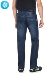 901 джинсы мужские утепленные, синие