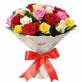 Цветы 25 разноцветных роз 25_разноцв_роз.jpg