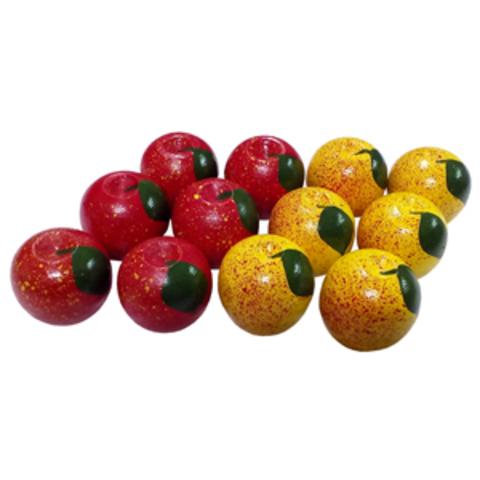 Счетный материал Яблочки(12 шт)(RNToys)