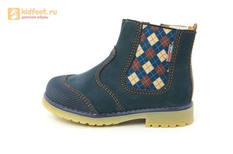 Ботинки Лель (LEL) для мальчика, цвет Темно синий, 3-1040. Изображение 3 из 16.