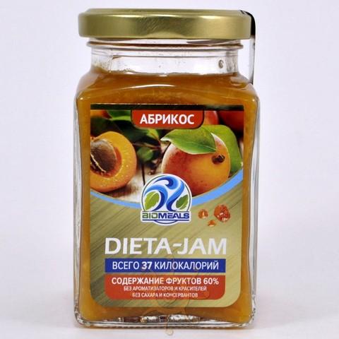 Джем диетический абрикосовый Biomeals, 230г