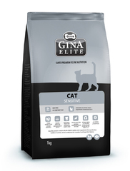 Gina ELITE Cat Sensitive полнорационный корм категории «холистик» для кошек с чувствительным пищеварением