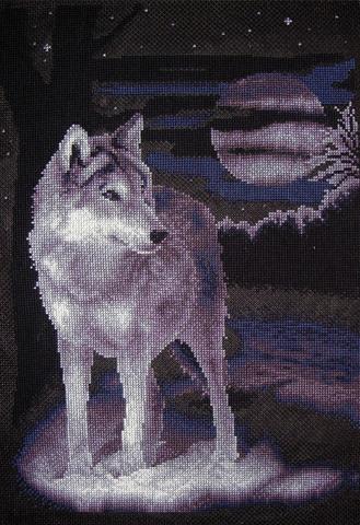 Ж-0462 Белый волк