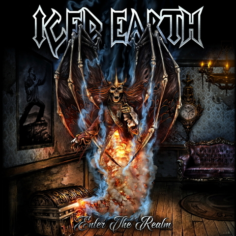 Iced Earth / Enter the Realm EP (LP)