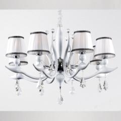 Потолочный светильник Crystal Lux FLAMINGO SP-PL8 BI