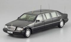1:43 Mercedes-Benz S500 (w140) Pullman Guard. Б.Ельцин. ГОН