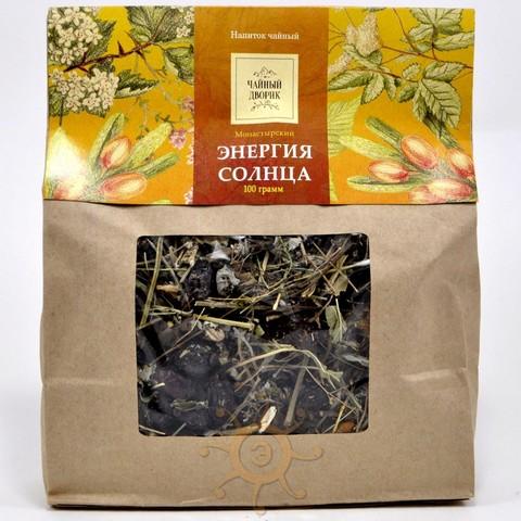 Чай травяной Энергия солнца Чайный дворик, 150г