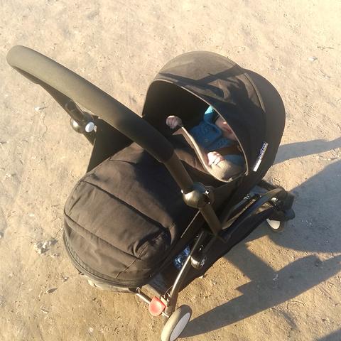 Коляска для новорожденных BabyZen YoYo 0+ (чёрная) напрокат