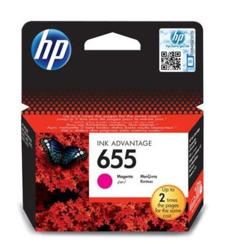 Картридж CZ111AE (№655) для HP Deskjet Ink Advantage 3525, 4615, 4625, 5525, 6525 (пурпурный, 600 стр.)