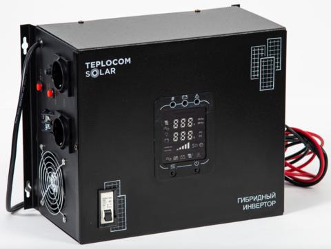 Гибридный солнечный инвертор TEPLOCOM SOLAR-1500