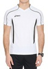 Мужская волейбольная футболка Asics T-shirt Volo (T604Z1 0190) белая фото