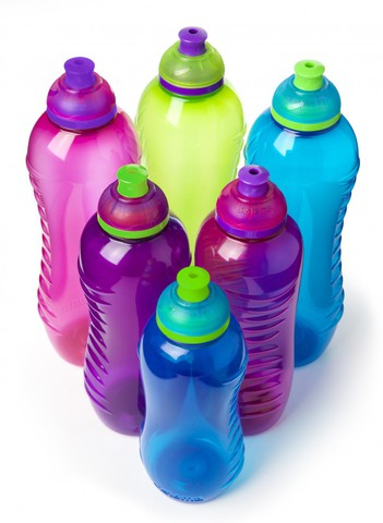Детская бутылка для воды Sistema, фиолетовая 460 мл