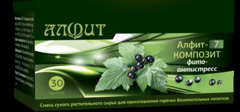 Фитосбор АЛФИТ-7 КОМПОЗИТ Фитоантистресс, 30ф/п*2г