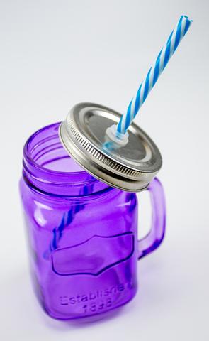 Баночка для смузи - Фиолетовая
