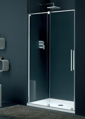 Дверь душевая в нишу раздвижная левая 120х195 см Provex S-Lite 0007 SN 05 GL L фото